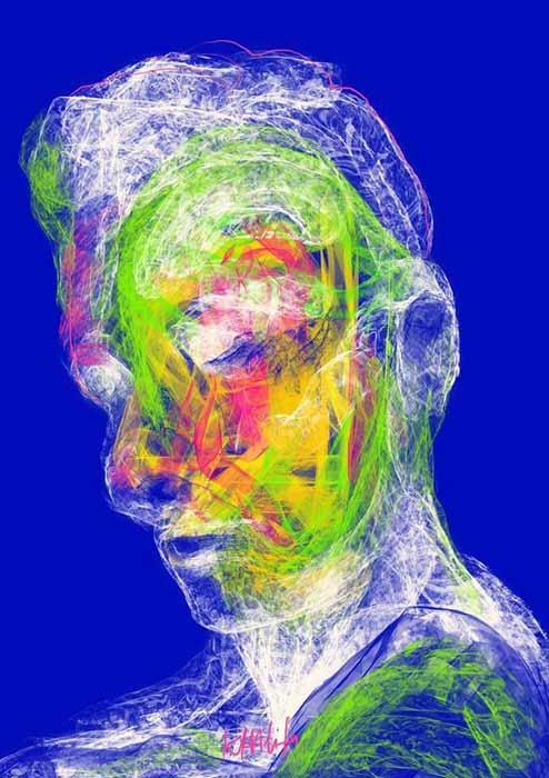 Ammar Khalifa - Untitled 1 - Digital art - Print on paper or canvas - Flexible size